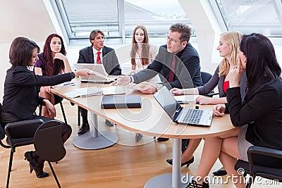 Big business meeting
