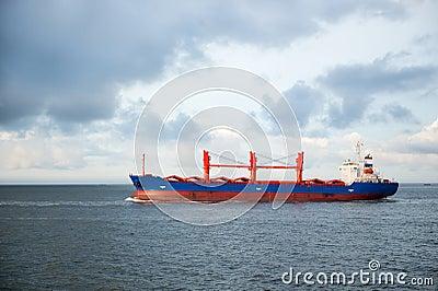 Big cargo boat