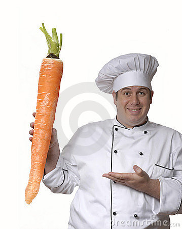 Big carrot.
