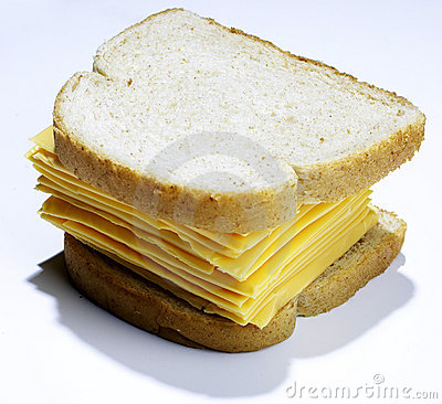 Big cheese sandwich