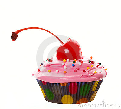 Big Cherry Cupcake
