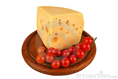 Big chunk of yellow cheese