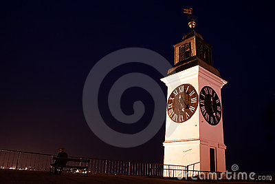 Big clock tower