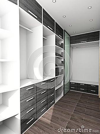 Free Big Closet In Home Interior Stock Photo - 2998970