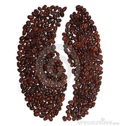 Free Big Coffee Bean From Coffee Beans Stock Photography - 22305802