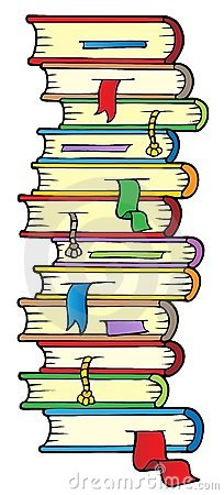 Free Big Column Of Books Royalty Free Stock Images - 20737249