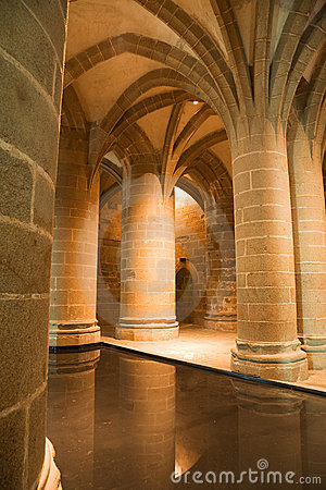 Big Columns from Mont St. Michel