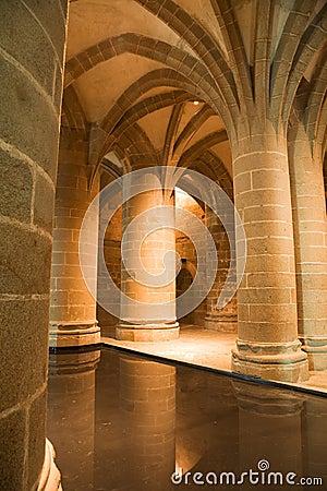 Big Columns from Mont St. Michel