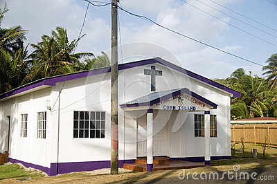 Editorial Revival Tabernacle Church Corn Island Nicaragua Centra Editorial Stock Photo