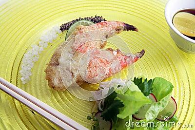 Big crab claw food
