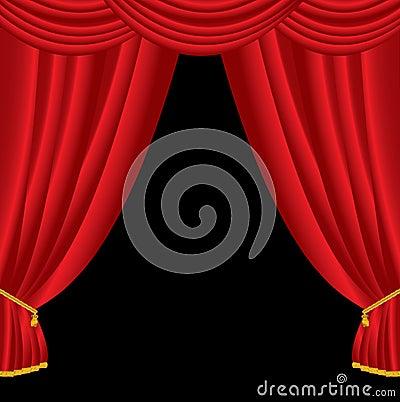 Big curtain