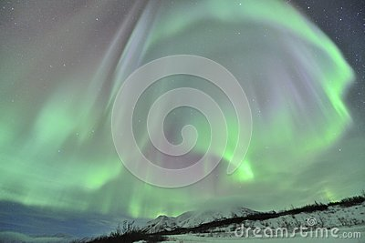 Big curtain Northern lights