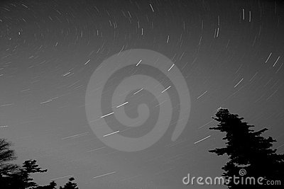 Big Dipper Star Trails