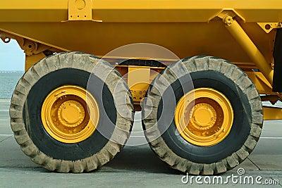 Big dumper truck