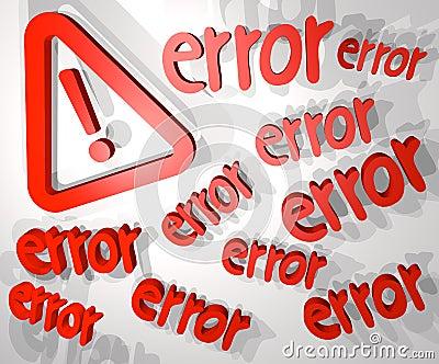 Big error