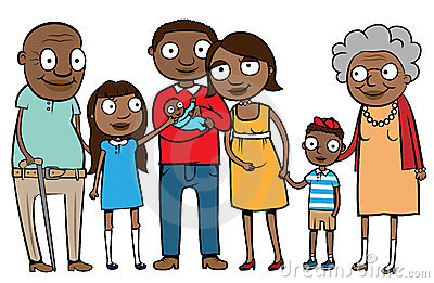 Big ethnic family