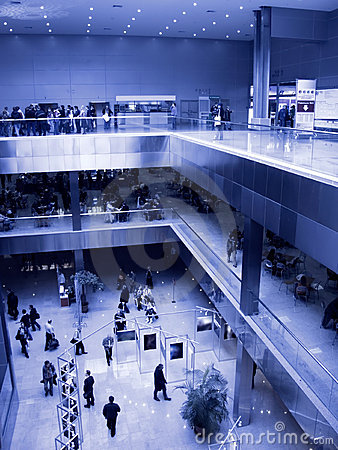 Big exhibition center