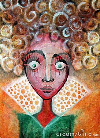 Free Big Eyed Girl Stock Photo - 39159310