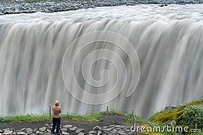 Big falls Editorial Stock Photo