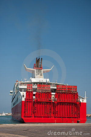 Free Big Ferry Boat Stock Photo - 11711920
