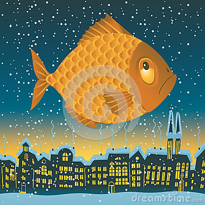 Big fish flies
