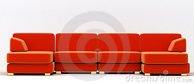 Big folding sofa