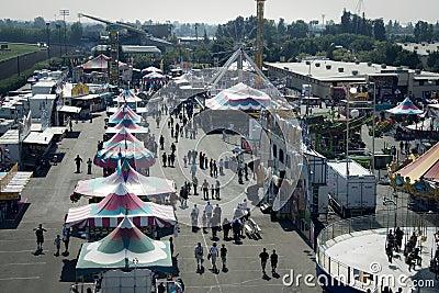 Big Fresno Fair (1 of 2) - Editorial Editorial Stock Image