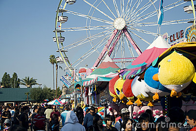 Big Fresno Fair (2 of 2) - Editorial Editorial Stock Photo