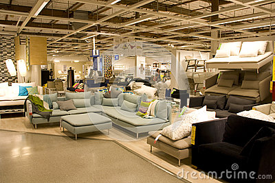 Big furniture store Editorial Image