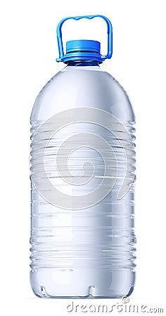 Big gallon plastic bottle