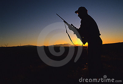 Big Game Hunter Silhouette