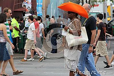 Big Hat Editorial Stock Image