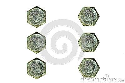 Big Hexagonal Cap Heads