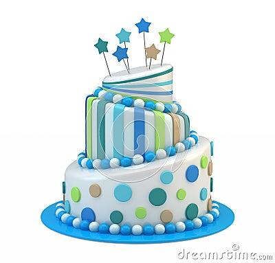 Big holiday cake