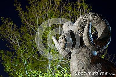 Big Horn Sheep Statue