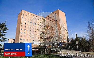 Big hospital
