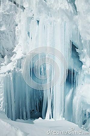 Big icicle