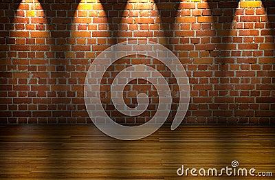 Big illuminated room