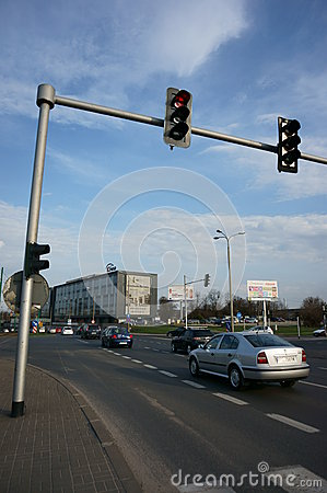 Big intersection Editorial Stock Photo
