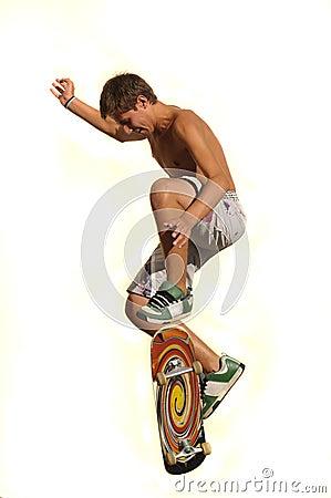 Free Big Jump Stock Image - 7750961