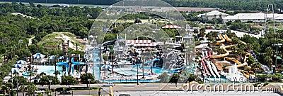 Big Kahuna water park Editorial Photo