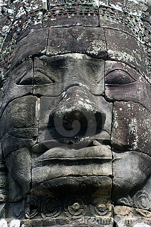 Big khmer face