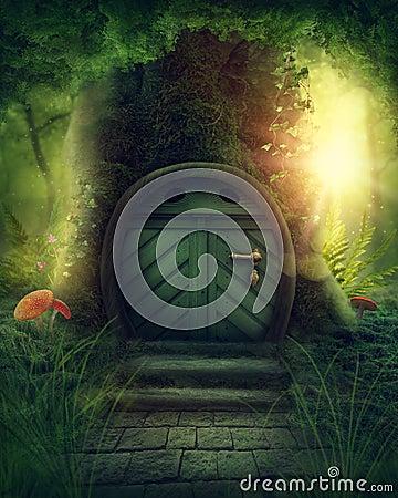 Free Big Magic Tree Stock Images - 105270474