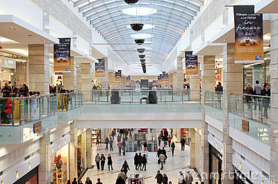 Big mall Editorial Image