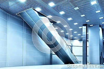 Big modern hall