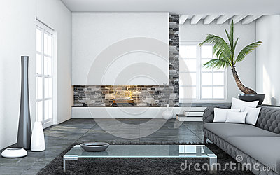 Big Modern Living Room