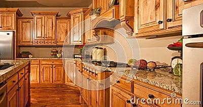 Big Modern New Home Kitchen