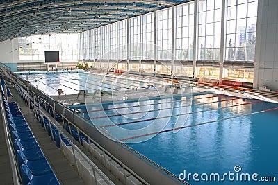 Big modern swimming pool
