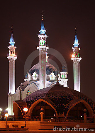Free Big Mosque Royalty Free Stock Image - 566136