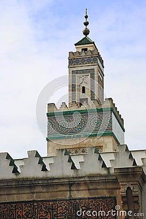 Big mosquee in Paris